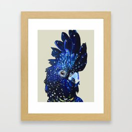 """""""Amelia"""" The Red Tailed Cockatoo Framed Art Print"""