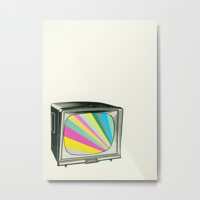 Your Programme Will Resume Shortly Metal Print
