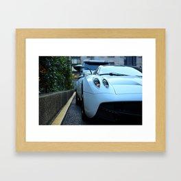 Pagani Huayra  Framed Art Print