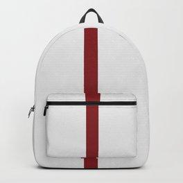 vermilion line || white rabbit eye Backpack