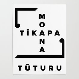Tīkapa Moana Tūturu Poster