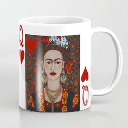 Frida Kahlo, reina de corazones II Coffee Mug
