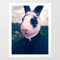 easter Art Prints featuring Easter by Benito Sarnelli