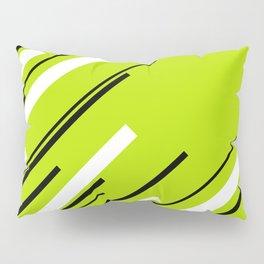 Diagonals - Lime Green Pillow Sham