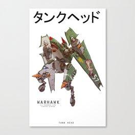JetHead Warhawk Canvas Print