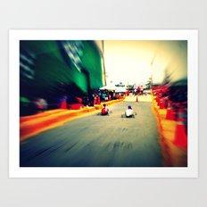 Race Art Print