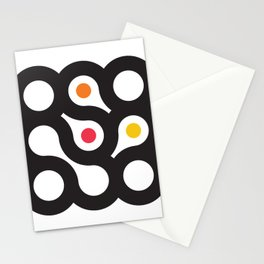 Circles 3x3 #9 Stationery Cards