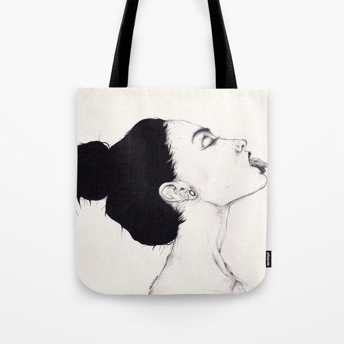 Tongue Tote Bag