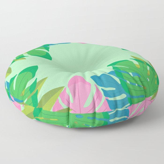 Jungle Floor Pillow