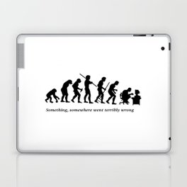 Something , somewhere went terribly wrong Laptop & iPad Skin