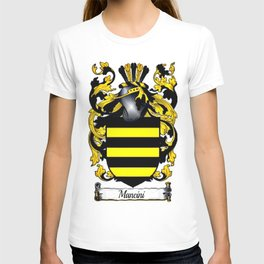 Family Crest - Mancini - Coat of Arms T-shirt