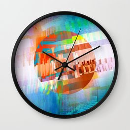 A Study in Pixel var 409 Wall Clock