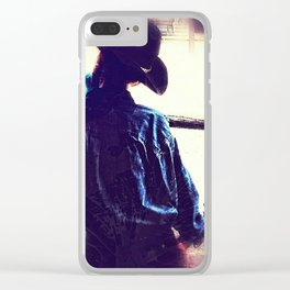 The Snowcone Kid Clear iPhone Case