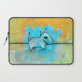 Dog No.1j by Kathy Morton Stanion Laptop Sleeve