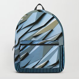 Shattered Abstract Backpack