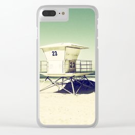 Tower 23 Clear iPhone Case