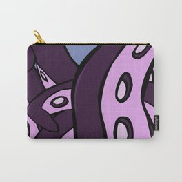 Purple Tentacles Carry-All Pouch
