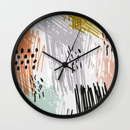 A quiet rage Wall Clock