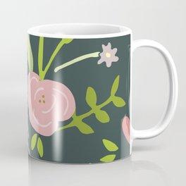Pink Flower Garden Coffee Mug