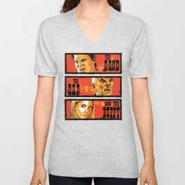 The Good The Bad The Buffy Unisex V-Neck