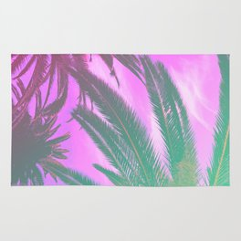 Groovy Palm Trees Rug