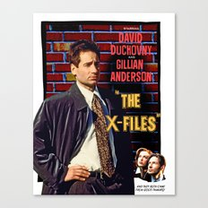 The X-Files as Rebel Without A Cause Canvas Print