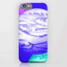 Illustration of watercolor round planet Slim Case iPhone 6s