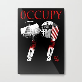 OCCUPY Metal Print