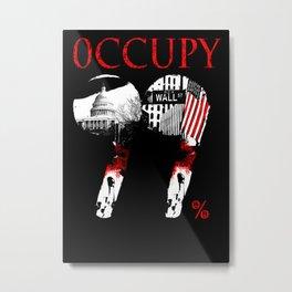 OCCUPY Metal Print