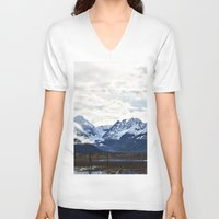alaska V-neck T-shirts featuring Beautiful Alaska by Chris Root