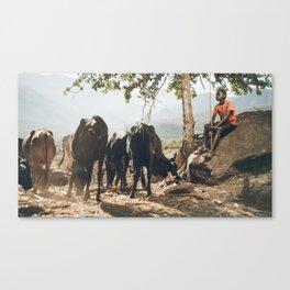 Pokot Lad Canvas Print