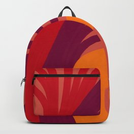 Triplets - Indian Red Backpack