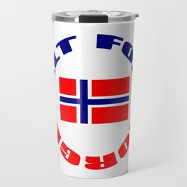 motto of norway 3 -alt for norge Travel Mug