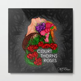 A Court Of Thorns And Roses Metal Print