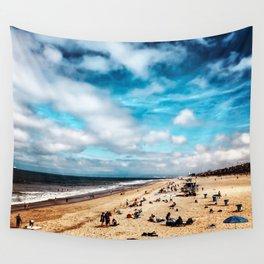 Manhattan Beach Summer Wall Tapestry