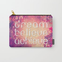 Autumn Sunshine and Pink Purple Maple Trees Carry-All Pouch