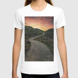Sunset over Skye island T-shirt
