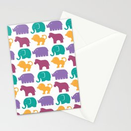 Fun at the Zoo: Pattern Stationery Cards