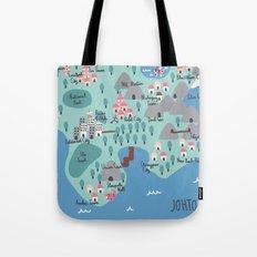 Johto Map Tote Bag