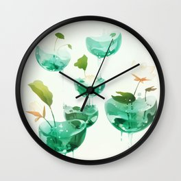 the hovering ponds. Wall Clock
