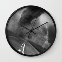 wwe Wall Clocks featuring Storm by eARTh