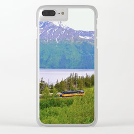 Alaska Passenger Train - Bird Point Clear iPhone Case