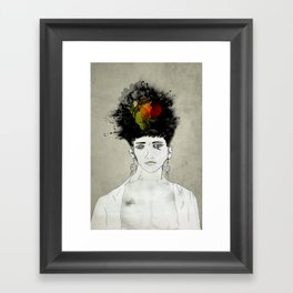 I'm not what you see Framed Art Print