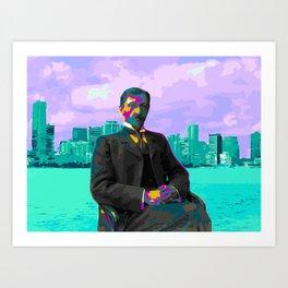 B U N IN Art Print