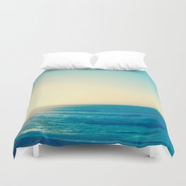 Blue Romance Duvet Cover