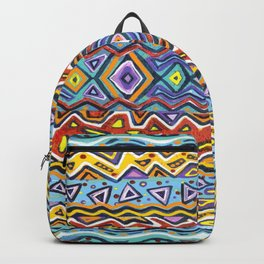 Colorful Life Tribal Pattern Backpack