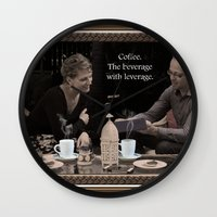 cafe Wall Clocks featuring Cafe by Beckon Creative