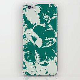 green Pine cones iPhone Skin