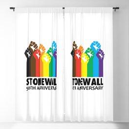 STONEWALL 50TH ANNIVERSARY Blackout Curtain