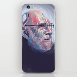 Oliver Sacks iPhone Skin